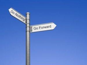 do nothing - go forward